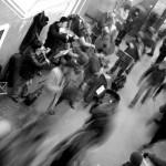 Banda di suonatori in metropolitana